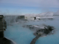 Heal your skin in Iceland's Blue Lagoon geothermal spa (desired by 4)