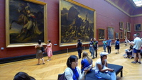 See the Great Masterpieces of the Louvre (completed by 7)