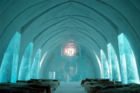 Brave the Frozen Frontier of the Ice Hotel in Sweden (desired by 4)